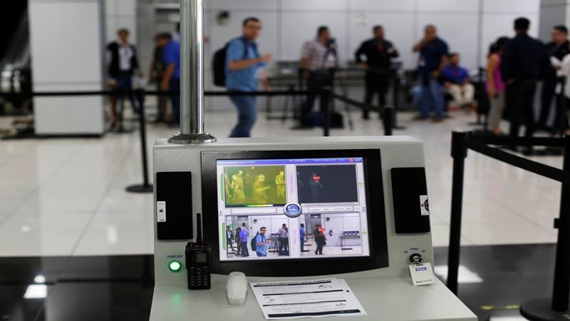 Perangkat pencitraan termografi. - Reuters