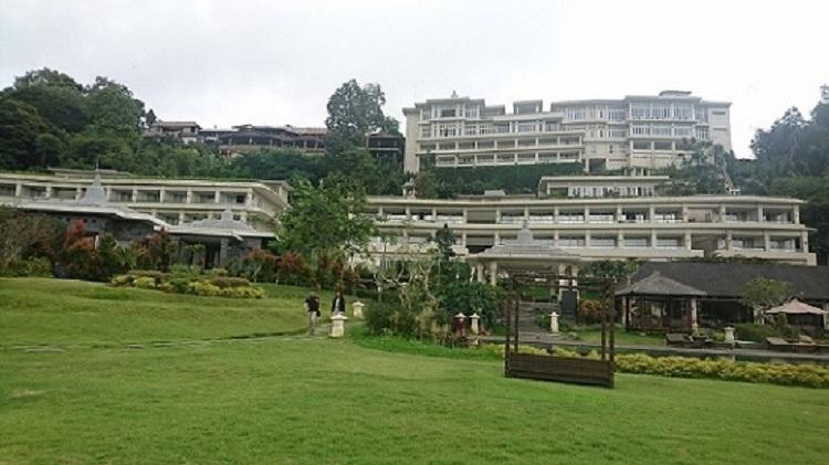 Pemandangan alam di sekitar Saranam Resort and Spa di Bedugul