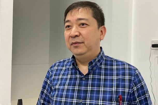 Ketua Gapki Sumsel Alex Sugiarto - Bisnis/Dinda Wulandari