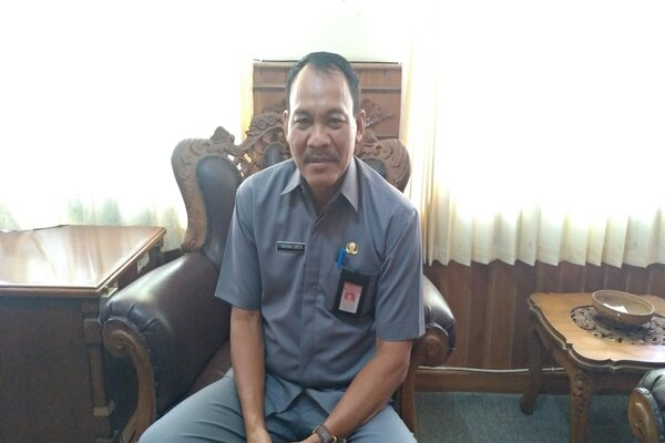 Kadis Perindustrian dan Perdagangan Provinsi Bali Wayan Jarta. - Bisnis/Busrah Ardans