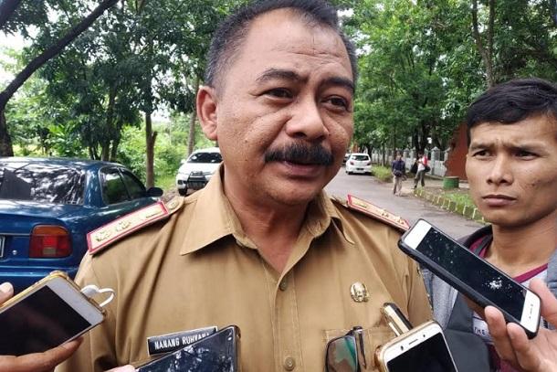 Kepala Bidang Pengendalian dan Pemberantasan Penyakit (P2P), Nanang Ruhyana - Bisnis/Hakim Baihaqi