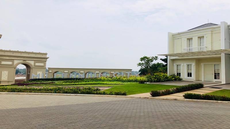 Perumahan Forest Hill dan Millenium City di Parungpanjang, Kabupaten Bogor Jawa Barat yang tanahnya telah diblokir penyidik Kejagung atas dugaan pencucian uang tersangka Benny Tjokro dalam kasus korupsi PT Asuransi Jiwasraya. JIBI - Bisnis/Sholahuddin Al Ayyubi.