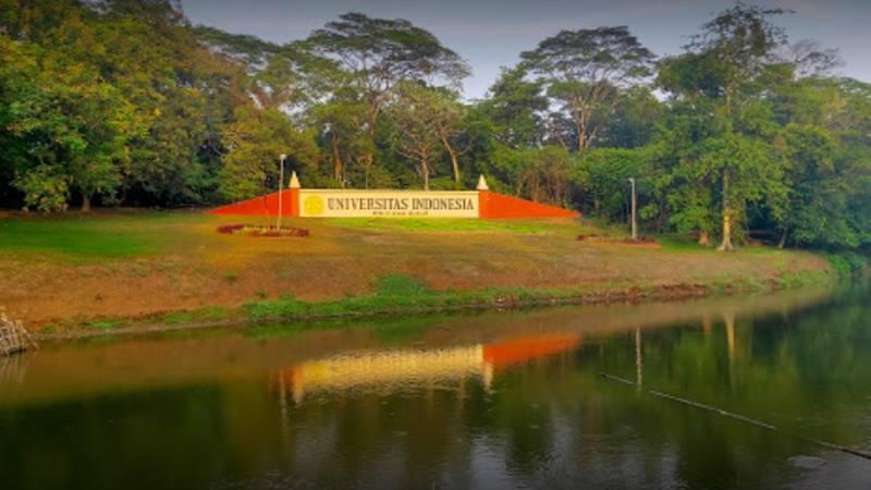 Kampus Universitas Indonesia (UI) di Depok Jawa Barat - Istimewa