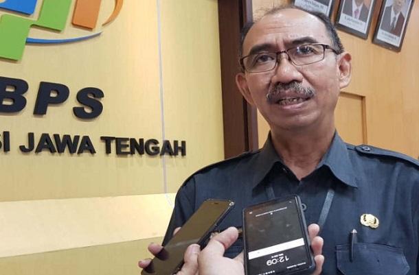 Kepala BPS Jateng Sentot Bangun Widoyono - Antara
