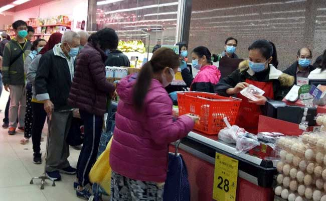 Suasana pasar pasca Virus Corona di Hongkong. Nurhalimah