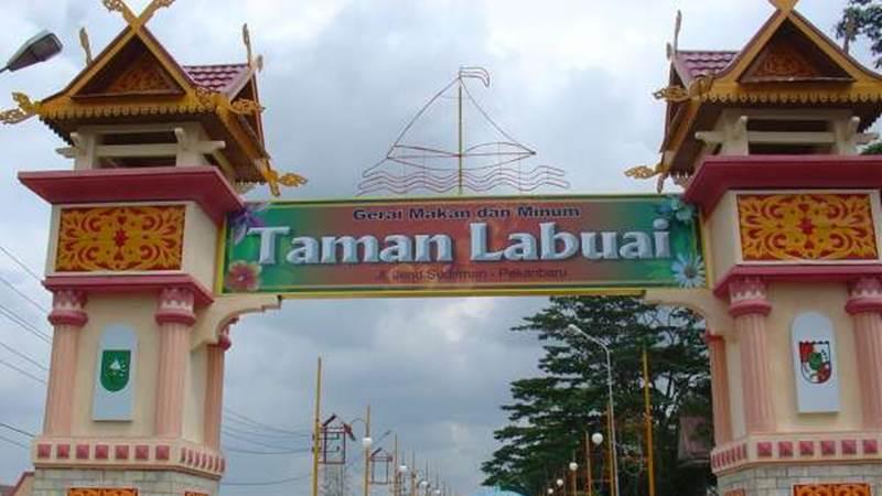 Gerbang Taman Labuai - pekanbaru.go.id