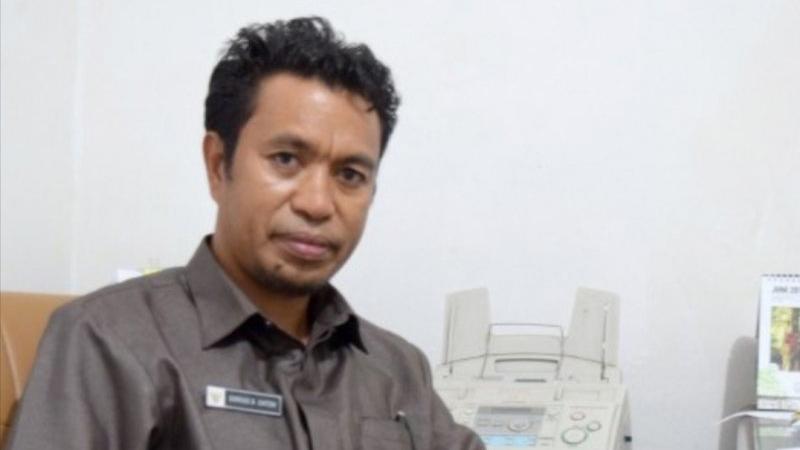 Darius Beda Daton, Kepala Ombudsman RI Perwakilan Provinsi NTT. - Antara foto/Aloysius Lewokeda