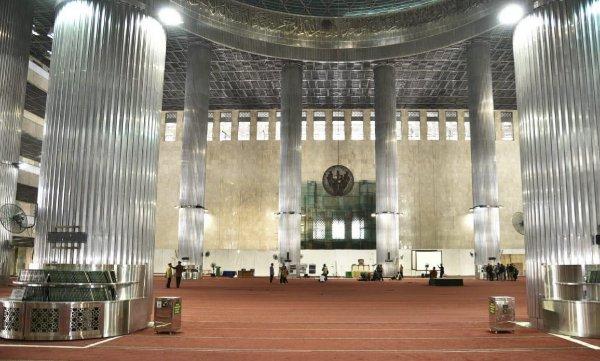 Renovasi Masjid Istiqlal diklaim telah mencapai 73,34 persen dan ditargetkan bisa rampung sebelum Ramadan 2020 - Kementerian PUPR