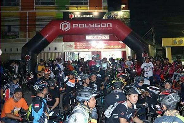 Peserta Night Ride Ramadhan Rodalink 2019. foto Rodalink