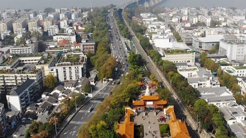 Kota Wuhan, Provinsi Hubei China. - Istimewa