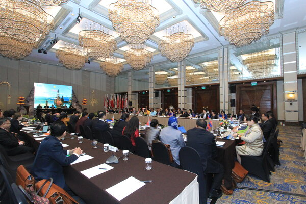 Acara 28th Session of the Asia and Pacific Commission on Agricultural Statistic (APCAS).