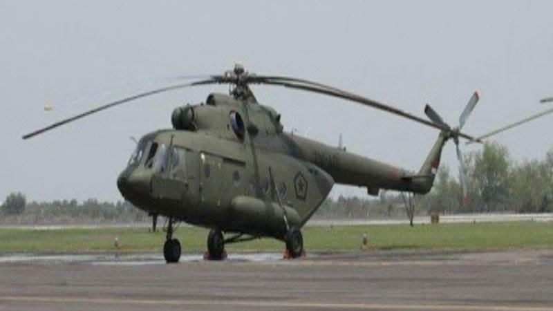 Ilustrasi-Profil helikopter Mil Mi-17 yang dilaporkan hilang dalam penerbangan Oksibil-Sentani, 28 Juni 2019. - ANTARA/HO/Penerangan Kodam XVII/Cenderawasih