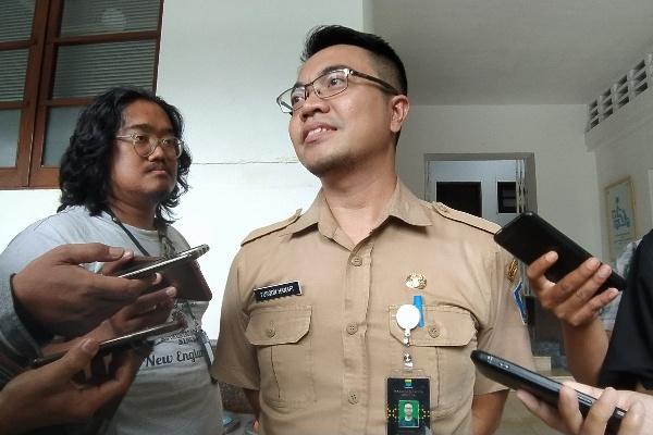 Kepala Seksi Manajemen Perangkat Keras Diskominfo Kota Bandung Furqon Hanafi - Bisnis/Dea Andriyawan