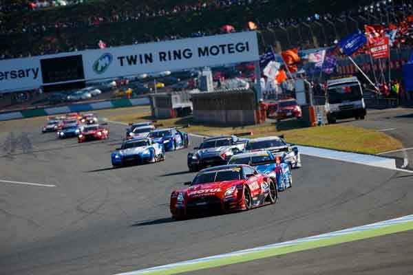 Kejuaraan Super GT 2017 di Twin Ring Motegi - Nissan