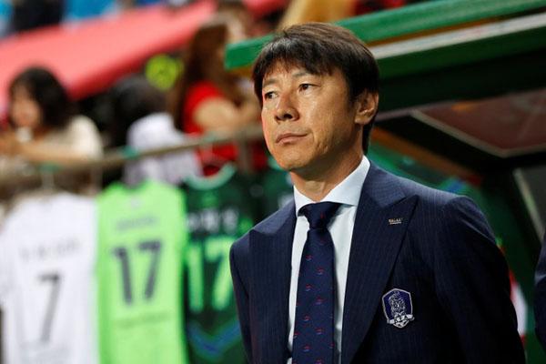 Pelatih Timnas Indonesia Shin Tae-yong - Reuters/Kim Hong-ji