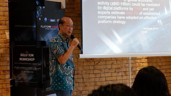 Direktur CTI Group Rachmat Gunawan - isitmewa