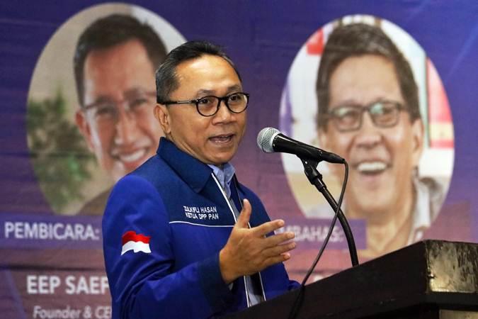 Ketua Umum Partai Amanat Nasional (PAN) Zulkifli Hasan. - ANTARA/Didik Suhartono