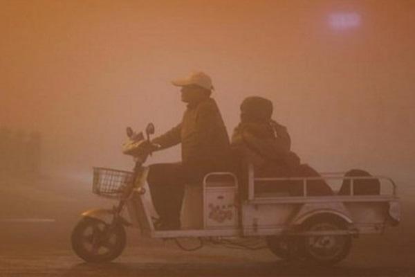 Polusi udara di China - Reuters