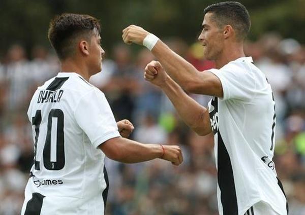 Paulo Dybala dan Cristiano Ronaldo - sportstarlive.com