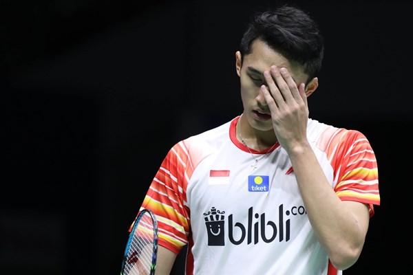 Jonatan Christie di Sudirman Cup 2019/badmintonindonesia.org -