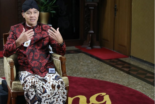 Gubernur Jawa Tengah Ganjar Pranowo - Istimewa