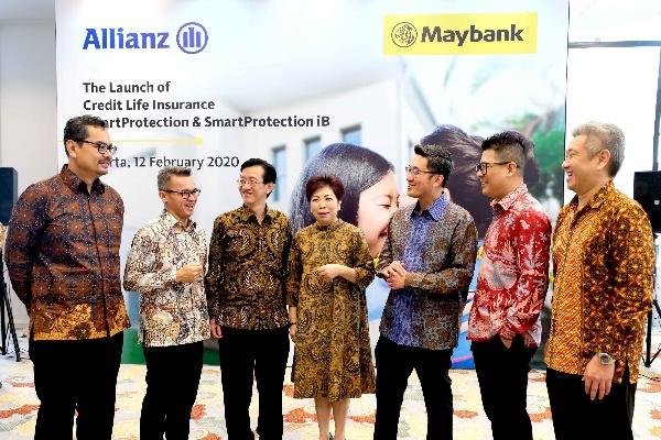 Suasana peluncuran kerjasama lanjutan PT Asuransi Allianz Life Indonesia (Allianz Life) menjadi penanggung asuransi PT Bank Maybank Indonesia Tbk (Maybank Indonesia)   -  Istimewa