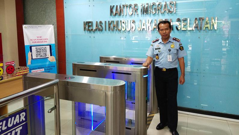 Kepala Kantor Imigrasi Kelas I Khusus Non TPI Jakarta Selatan, Jamaruli Manihuruk - Bisnis.com/Andhika
