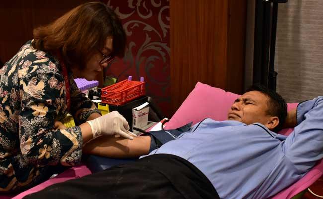 Donor darah Noormans Hotel Semarang