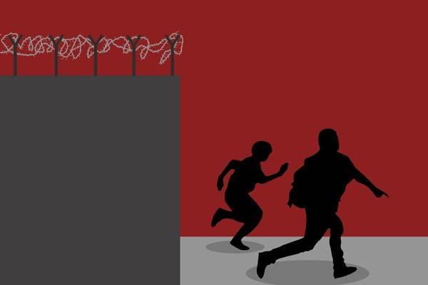 Ilustrasi kabur dari penjara - Antara