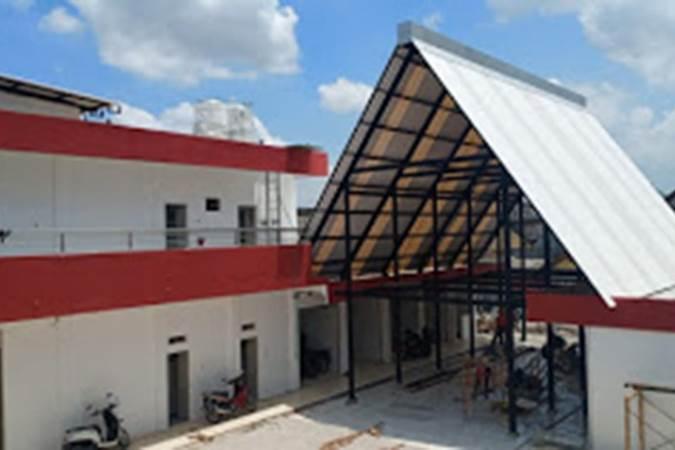 Bangunan Pasar Burung dan Batu Akik di eks bangunan Wisma Barbara Dolly, Kota Surabaya - Antara Jatim/Dinas Cipta Karya Surabaya
