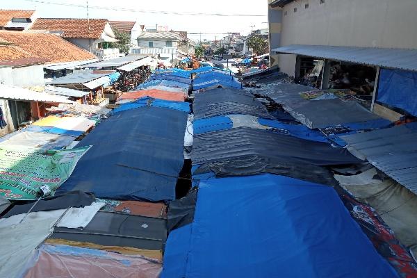 Pasar Sumber Cirebon - Bisnis/Hakim Baihaqi