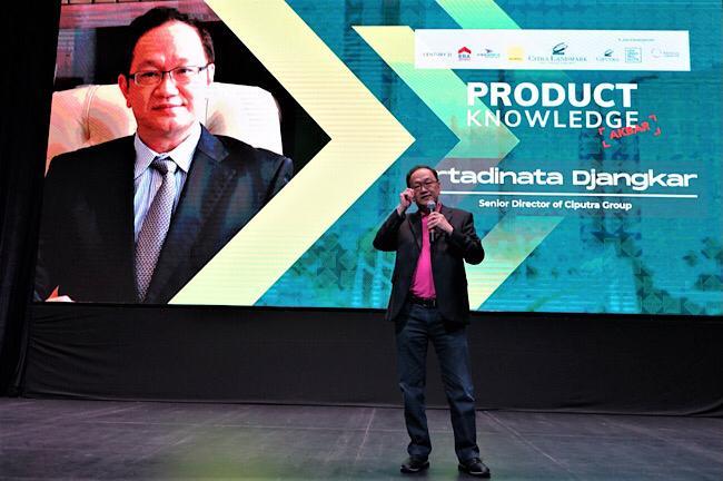 Senior Director Ciputra Group Artadinata Djangkar di acara pengenalan produk apartemen terbaru di Jakarta Timur, Jumat (14/2/2020) - Bisnis/Istimewa.