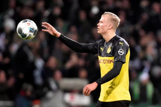 Borussia Dortmund Erling Haaland - Antara