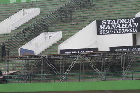 Ilustrasi-Stadion Manahan - Antara/Akbar Nugroho Gumay