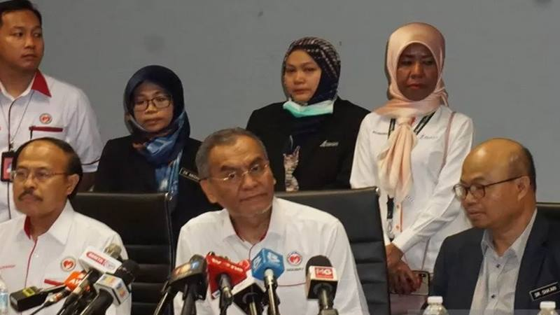 Menteri Kesehatan Malaysia, Dzulkefly Ahmad di Putrajaya - Antara