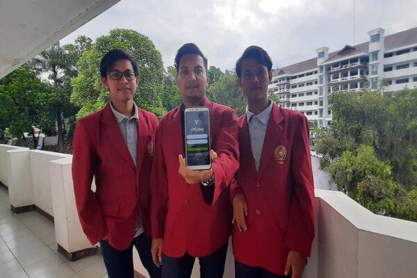 Mahasiswa UMM pencipta Aplikasi Pendeteksi Penyakit Sapi. - Istimewa