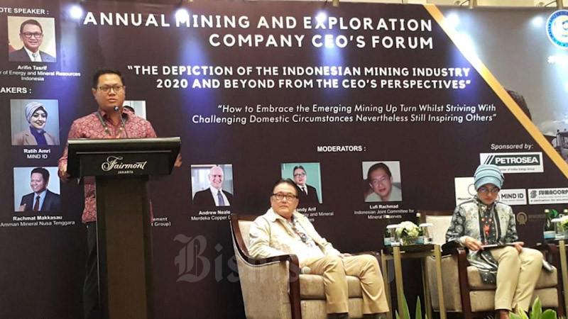 Amman Mineral Optimalkan Peluang di Sektor Tambang - Ekonomi Bisnis.com