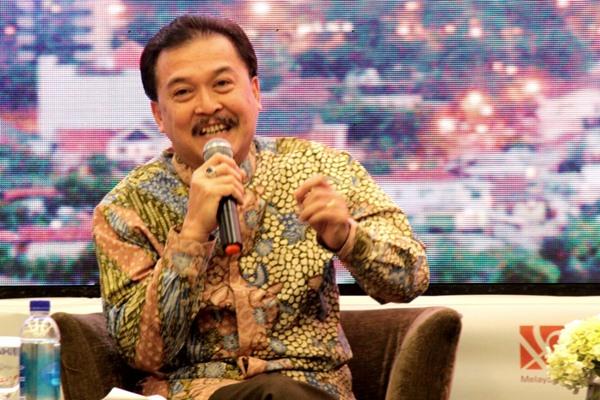 Randi Anto Direktur Utama Perum Jamkrindo. - Bisnis/Dok.Perusahaan