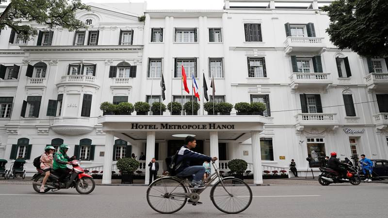 Suasana di Hotel Metropole di Hanoi Vietnam - Reuters