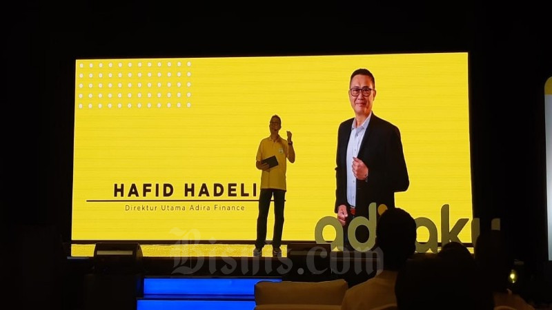 Direktur Utama Adira Finance Hafid Hadeli  -  Bisnis / Arif Gunawan