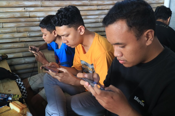 Atlet peserta turnamen 'kill the LAst competition bertarung selama 12 Jam nonstop di Denpasar.