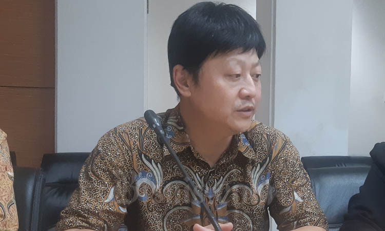 Xu Fei, Indonesia Branch Managing Director China Railway Construction Corporation (International) Limited. - Bisnis/Jaffry Prabu Prakoso