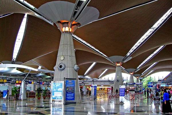 Check-in counters KL International Airport - klia2info