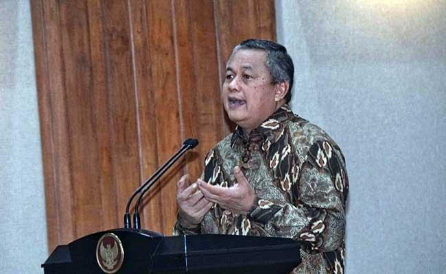 Gubernur Bank Indonesia Perry Warjiyo. Bisnis - Himawan L Nugraha