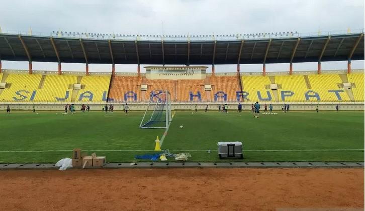 Stadion Si Jalak Harupat - Antara