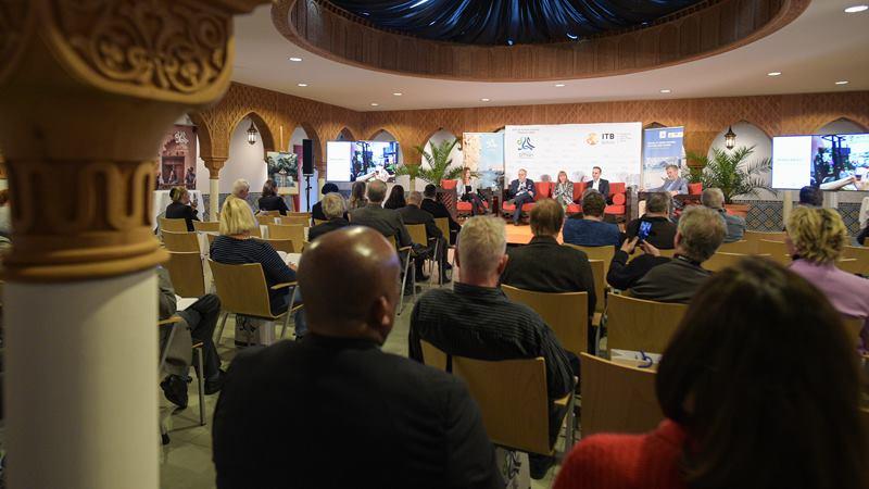 Konferensi pres ITB Berlin 2020. -  itb/berlin.com