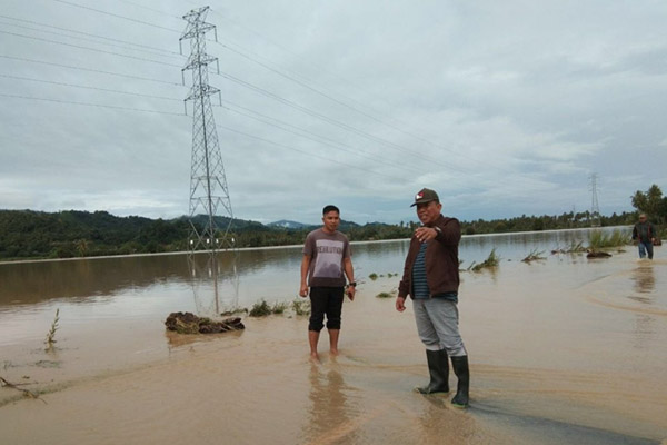 Banjir Bolmut Lebih Dari 3 000 Warga Mengungsi Kerugian Capai Rp1 2 M