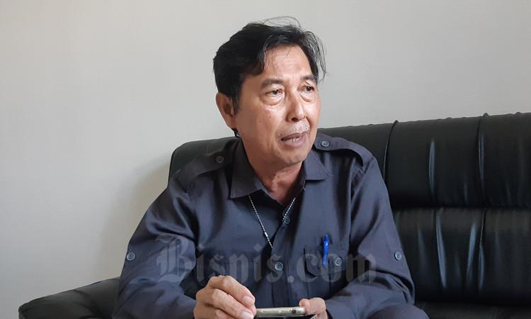 Kepala Badan Pusat Statistik (BPS) Balikpapan Achmad Zaini. - Bisnis/Jaffry Prabu Prakoso
