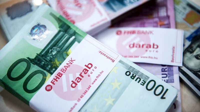 Mata uang euro. -  Akos Stiller / Bloomberg