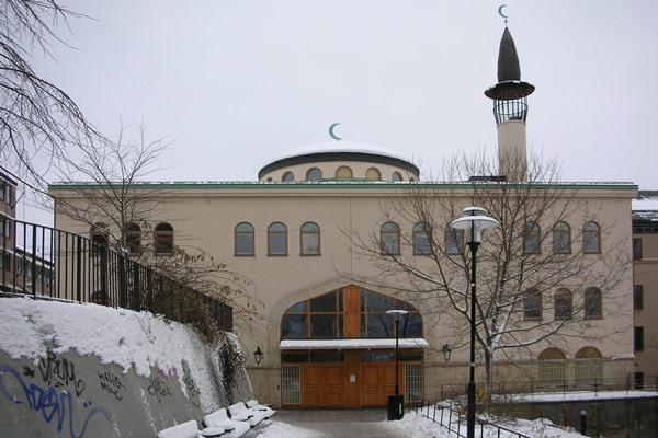 Ilustrasi - Salah satu masjid di sudut kota Stockholm, Swedia. - Bisnis/wikipedia